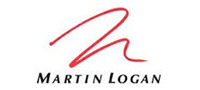red and black martin logan logo