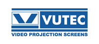 blue and white vutec logo